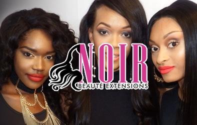 Noir Beaute Extensions - Top Notch Dezigns